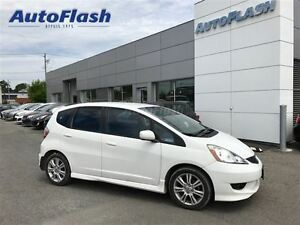 2010 Honda Fit Sport * Manuel * Un-Proprio!/One Owner! * Full *