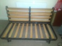 IKEA double bed settee frame