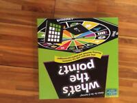 What's the point maths board game