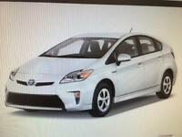 Toyota Prius uber ready to rent or hire