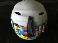 Childrens Ski Helmet (Paul Frank) with Matching Goggles