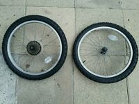 Bike Wheels And Tyres 20 x 1.95