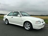 FORD ESCORT RS TURBO (white) 1989