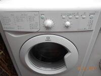 indesit 7Kg washing machine in good clean working order 3 months warranty RRP £289.00