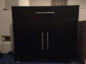 Console storage cabinet - suitable As Tv stand/ office. Very smart.