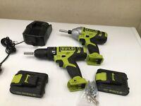 Cordless Drill & Impact Driver