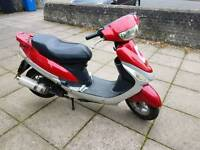 2011 61 plate boation bt49 50cc moped years mot