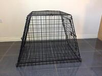Dog crate / cage for car boot