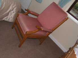 Vintage Parker Knoll armchair has been fully restored and is in very good condition