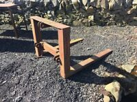 Tractor 3 point linkage forks / pallet lift