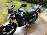 KSR Moto WORX 125cc Bike