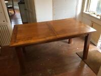 Wooden Extender Dining Table