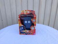 DOCTOR WHO TARDIS TALKING MONEY BOX