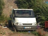 Ford Transit Pick Cab and Chassis