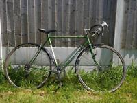 Obrien Concorde Vintage mens racing bicycle for restoration