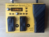 BOSS GP10 GUITAR PROCESSOR + ROLAND GK3 PICKUP