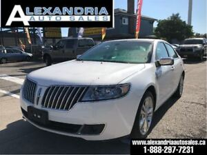 2010 Lincoln MKZ 118km navi roof leather