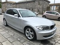 BMW 123d Silver w Black Heated Leather Twin Turbo 204HP AND 60+ MPG w Towbar