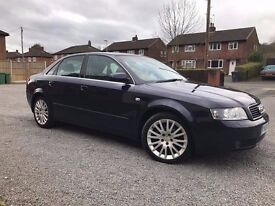 Audi A4 B6, 1.9 Tdi 130, 2004, Full Spec - Leather, Bluetooth, Front + Rear Parking, Cruise Control!