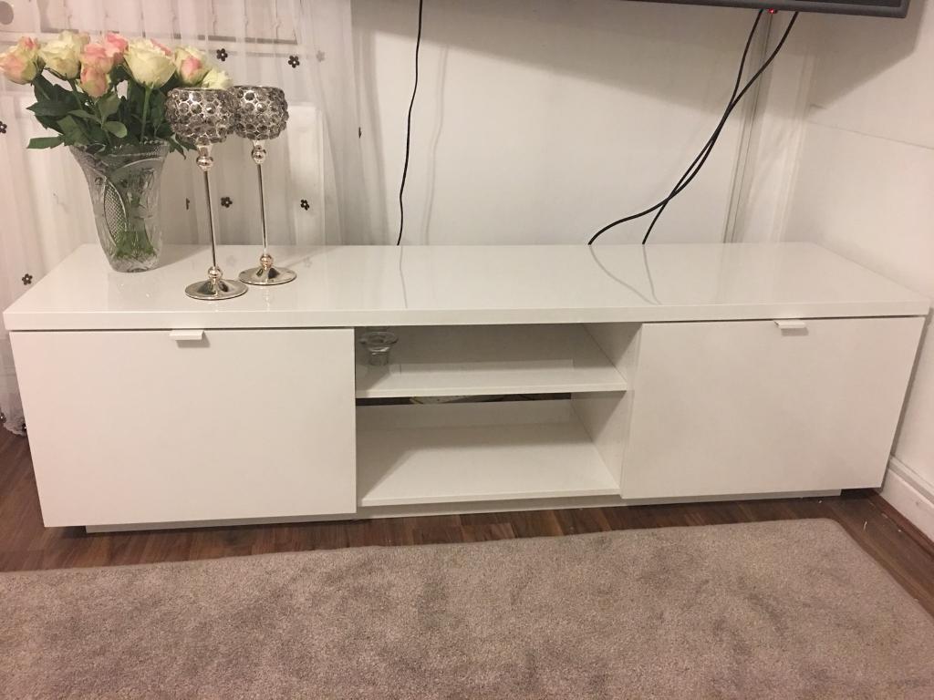 Fonkelnieuw IKEA BYAS TV BENCH / STAND - 2 months old | in South Shields RN-36