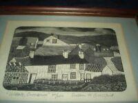 Uldale, Cumbria Framed Limited Edition Print 22/200 Susan H Glassford