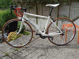 Planet X Pro Carbon Medium road bike hardly used