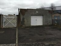 Workshop Storage Unit in Edinburgh