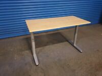 Small Cantilevered Office Desk