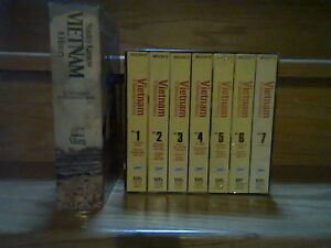 """PBS """"VIETNAM - A TELEVISION HISTORY""""- BOOK & VHS TAPES"""
