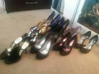 Job lot of womens heels
