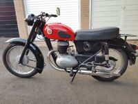 VINTAGE 1958 CLASSIC FRANCIS BARNETT CRUISER 225CC MOTORCYCLE VGC TAX MOT EXEMPT 3 OWNERS