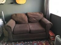 Small Brown Sofa