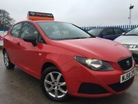 2009 Seat Ibiza 1.2 S A/C - 5 Dr Hatchback - 120k With Full Service History - 2 Keys - Free Warranty