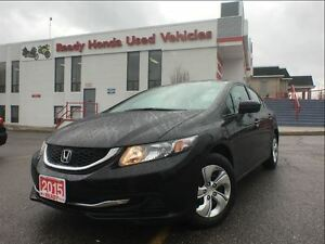 2015 Honda Civic Sedan LX - Rear Camera - B.Tooth - Low kms