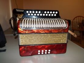 Hohner Black Dot BC Tunning accordion £350