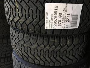 205/60/16 Goodyear Nordic *Winter Tires*