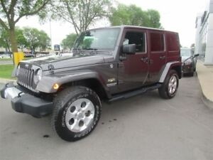 2014 Jeep Wrangler Unlimited Sahara*NAVIGATION*2 ROOFS