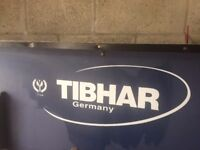 Tibhar Table Tennis Table with accessories