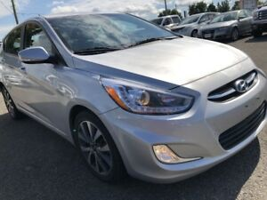 2016 Hyundai Accent GLS Auto with Sunroof,Heated Seats, Bluet...