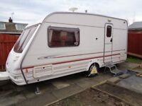 Sterling eccles topaz 2 birth caravan