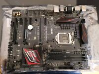 Asus Z170 Pro gaming motherboard, new and unused.