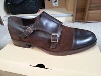 Men's Double Monk Strap Shoes For Sale