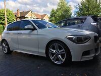 BMW 125d M Sport in stunning Alpine White!
