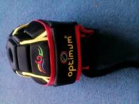 Rugby scrum cap, immaculate condition,suitable 7 years and upwards.