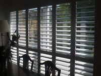 Plantation Shutters for Patio / French Doors