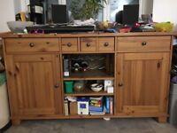Ikea sideboard oak £50