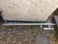 Ikea Grundtal kitchen wall shelf rail rack