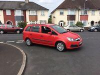 7 Seats Vauxhall Zafira 57 reg facelift model , 12 months mot ,ideal family car ,px welcome