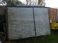 Galvonised shed