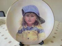 Collectable Decorative Plate - Michael by Gregory Perillo